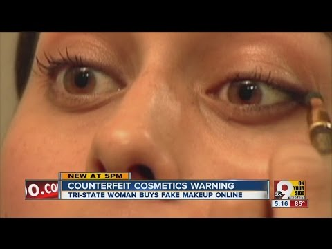 Counterfeit cosmetics? How to spot a fake