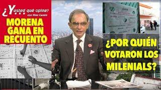 URGENTE!! MORENA GANA RECUENTO DE VOTOS