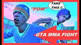 GTA 5 Online Fighting Deathmatch , GTA 5 Cage Fight , Movie Editor , CCF 7