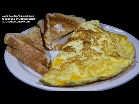 Easy Perfect Cheese Omelette Recipe