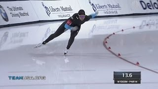 Kelly Gunther: The Comeback Kid | 2014 U.S. Olympic Trials Speedskating