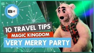 Top 10 Tips Visiting Mickey's Very Merry Christmas Party at Magic Kingdom, Walt Disney World