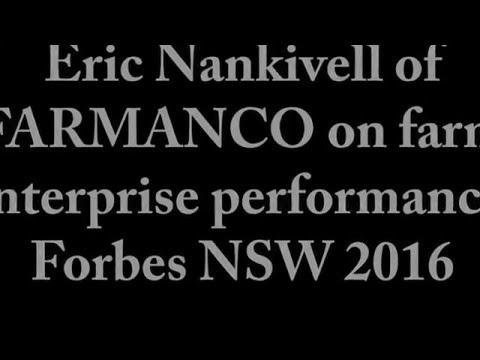 Eric Nankivell of FARMANCO on farm enterprise performance