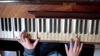 A drop in the ocean piano tuto