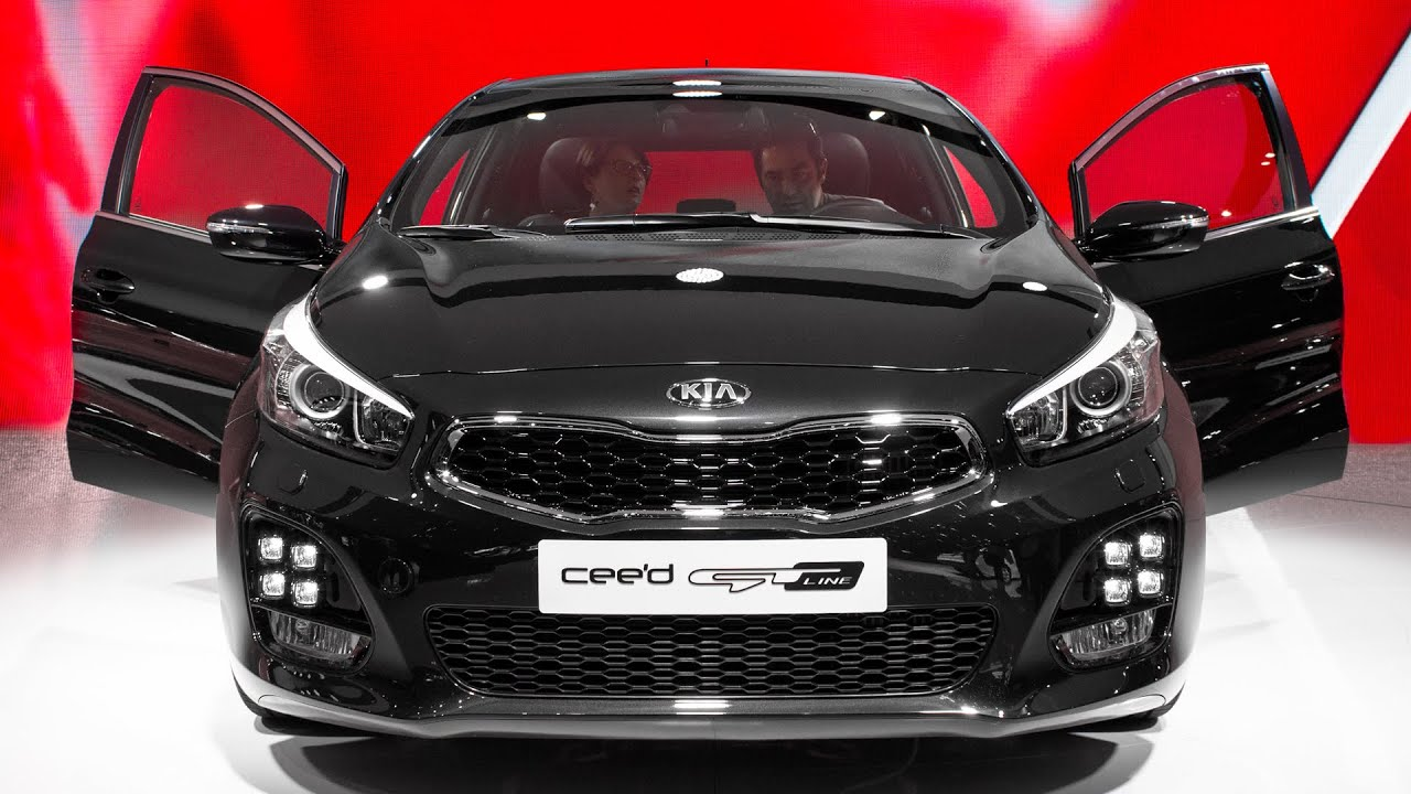 new kia cee 39 d gt line geneva motor show 2015 hq youtube. Black Bedroom Furniture Sets. Home Design Ideas
