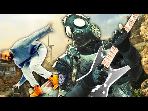 Playing GUITAR on Call of Duty Black Ops! - 'Hot Line Bling'