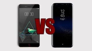 zTE Nubia Z17 VS Samsung Galaxy S8 Kamera Testi