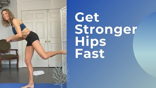 5 Minutes To Stronger Hips
