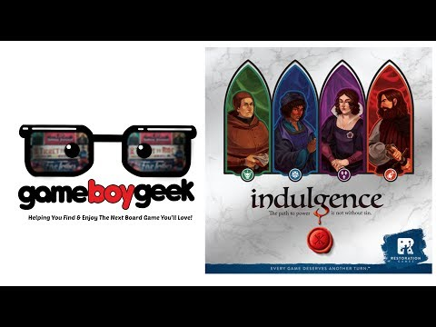 Indulgence Review with the Game Boy Geek