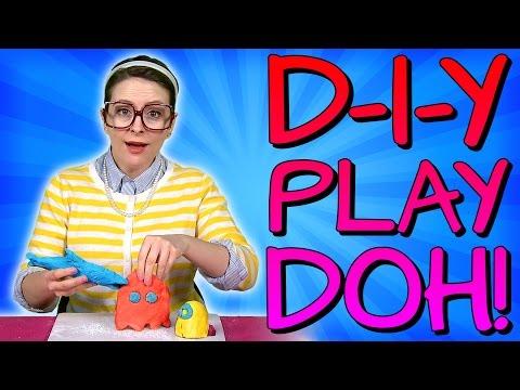 Play Doh - DIY Recipe! Crafts For Kids W/ Crafty Carol At Cool School