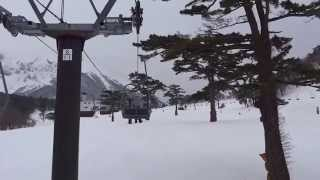 大山ホワイトリゾートスキー場 豪円山エリア G1号リフト