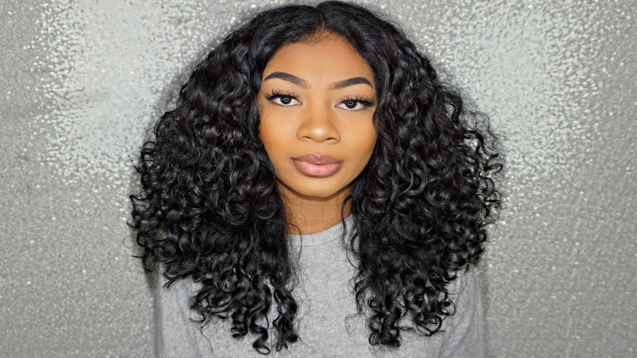 simple curly hair routine 3a