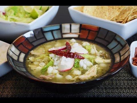 Green Pozole Recipe, Mexican Food!