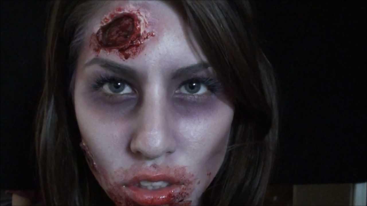 left 4 dead the walking dead zombie makeup tutorial