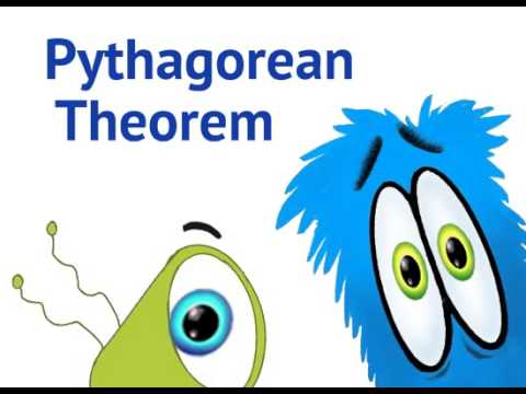 Pythagorean Theorem - educational math cartoon for kids - YouTube