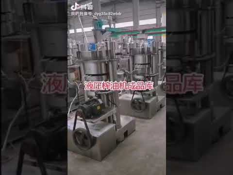 Automatic Hydraulic Oil Press Machine Sesame Avocado ...