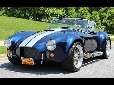 1965 Shelby Cobra For Sale With Test Drive Driving Sounds