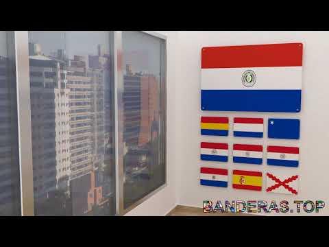 Himno y banderas de Paraguay | Paraguay flags and anthem