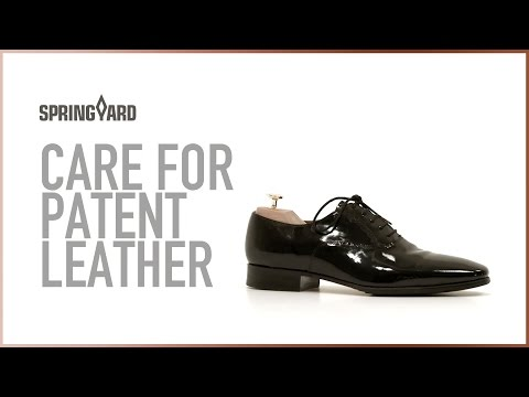 Care For Patent Leather