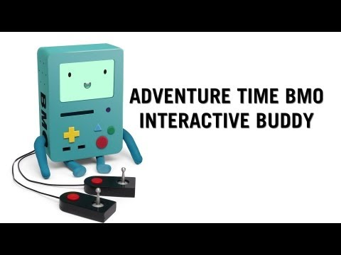 Adventure Time BMO Interactive Buddy From ThinkGeek