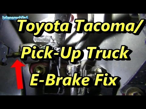 parking brake hook up
