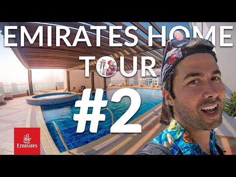 Top Emirates Cabin Crew Accommodations & Landmarks Part 2