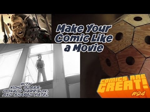 CAG! 94 - Make Your Comic Like a Movie