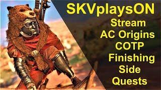 SKVplaysON - AC Origins, Stream, [ENGLISH] PC Gameplay