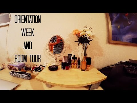 Orientation week + room tour