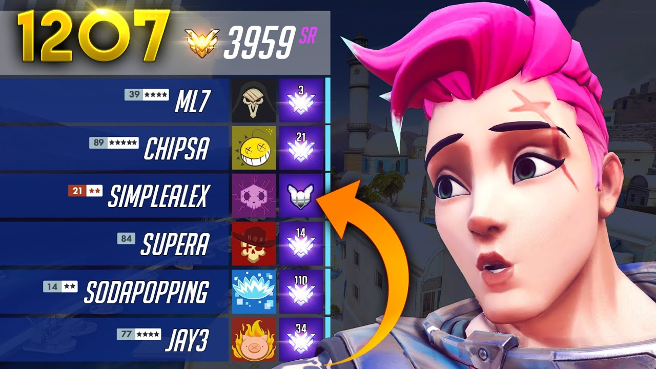 A PLAT In TOP 500 GAMES?! | Overwatch Daily Moments Ep.1207 (Funny and Random Moments) thumbnail