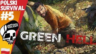 Ukryta Baza Kartelu Narkotykowego w Green Hell Fabuła PL #5 | Rizzer survival gameplay po polsku
