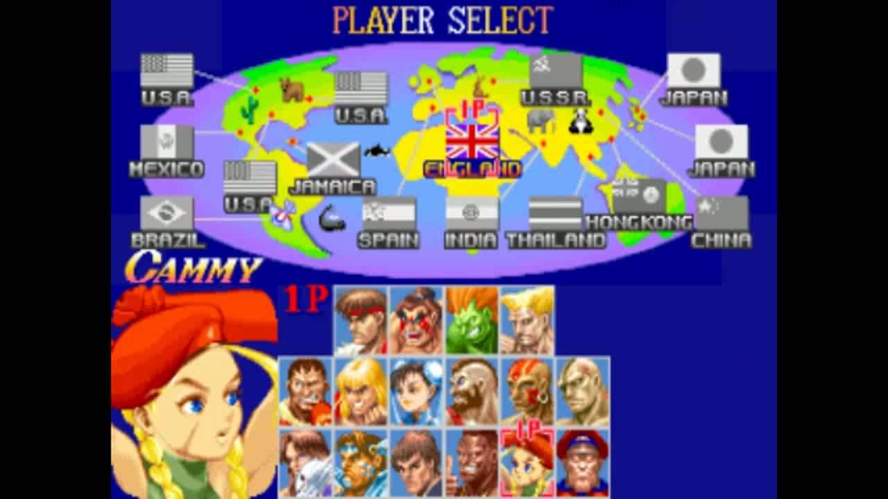 Street Fighter II - Travel to Brazil