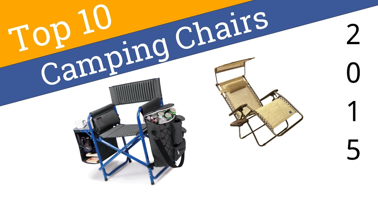 10 Best Camping Chairs 2015