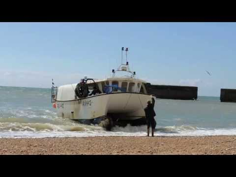 RX442 Hastings Fishing Boat. The Stade. East Sussex 1066 Country. HD