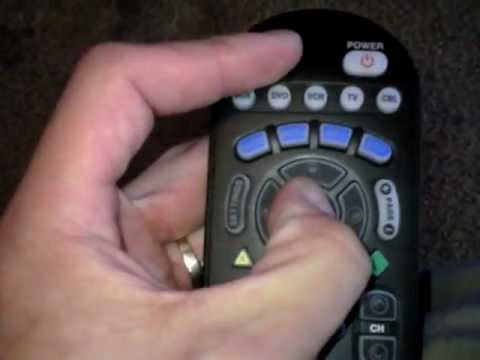 How To Program System Button On Cable Remote Youtube
