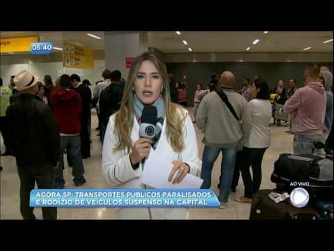 Paralisação provoca atraso e cancelamento de voos em Guarulhos (SP)