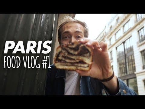 PARIS FOOD VLOG #1 : CROISSANT, CUISINE CALIFORNIENNE, BABKA