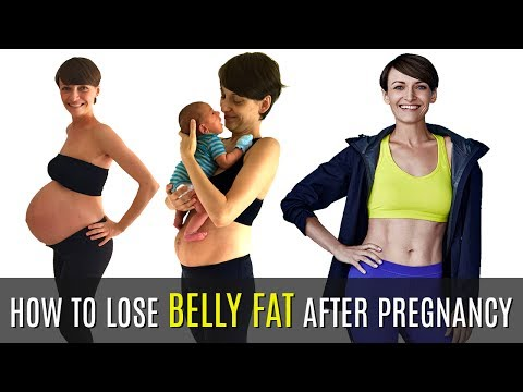 How to Lose Belly Fat After Pregnancy | 5 Effective Exercise