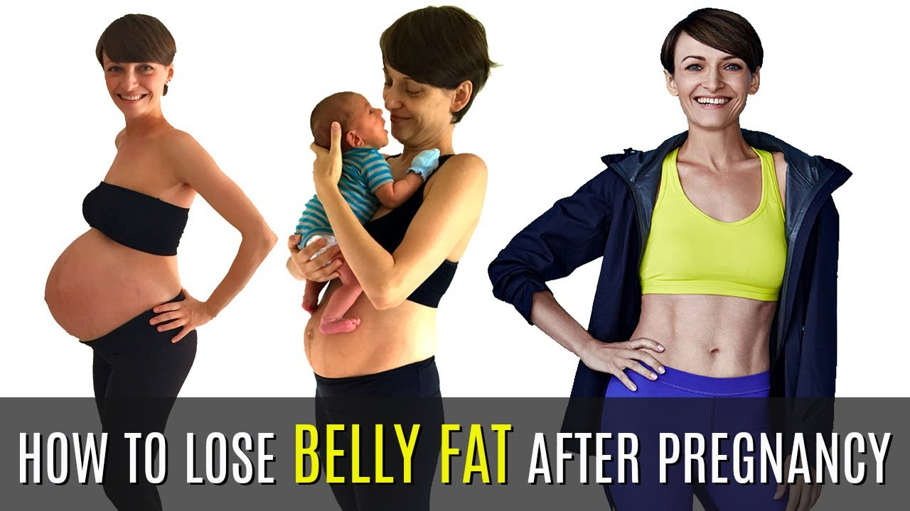 what to eat to reduce belly fat after delivery