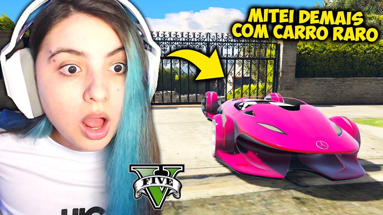 ENCONTRANDO CARROS RAROS de RICO e FAZENDO MITAGENS no GTA V!! ESSE MOD QUEBROU meu COMPUTADOR...