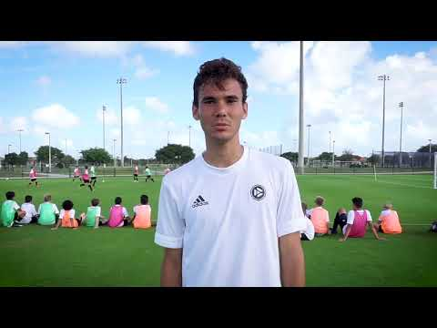 DFB Academy Youth Elite Soccer Camp, Fort Lauderdale, Florida 2018
