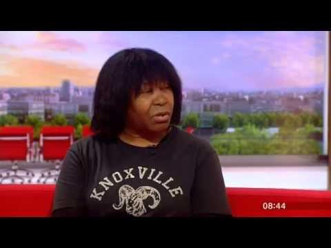 Joan Armatrading BBC Breakfast 2015