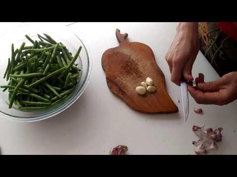 Стручковая фасоль рецепты