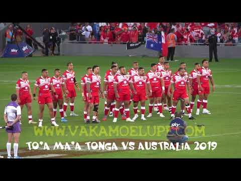 Tonga vs Australia 2019 -  TONGA Sipi Tau