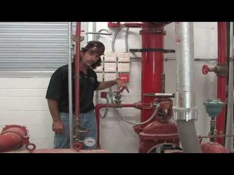Sprinklermatic Fire Pump Demonstration