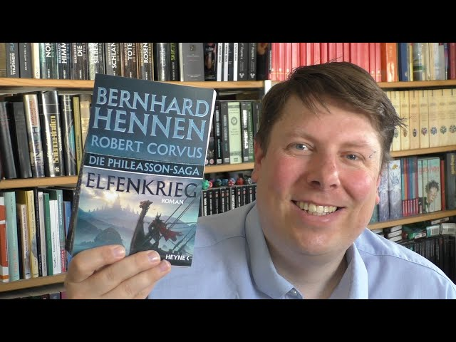 ELFENKRIEG - Phileasson Saga 8 - Bernhard Hennen/Robert Corvus - Fantasy