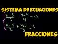 Sistema de Ecuaciones con Fracciones Mp3