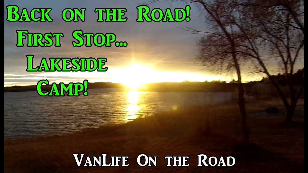 back-on-the-road-first-stop-lakeside-camp-vanlife-on-the-road