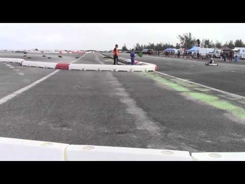 Karting At Bermuda Motorsports Park, January 18 2015