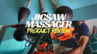 Jigsaw Massage Review | Percussion Deep Tissue Jigsaw Massager | TimTam Theragun Alternative